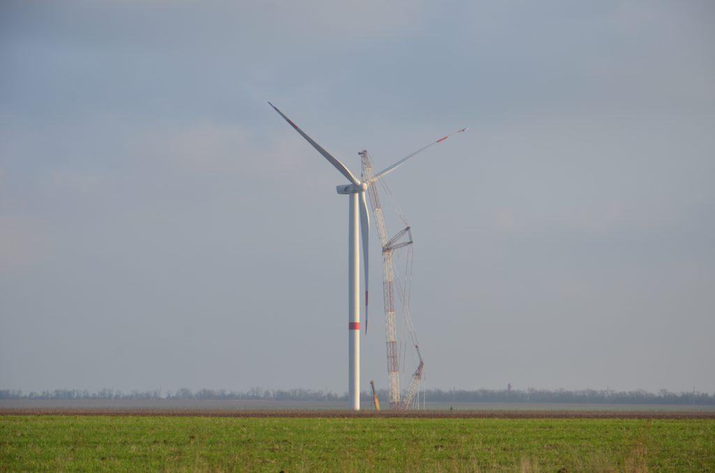 Установка ветрогенератора 3,5 МВт