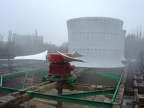 Runner and stack for cooling tower VG-50