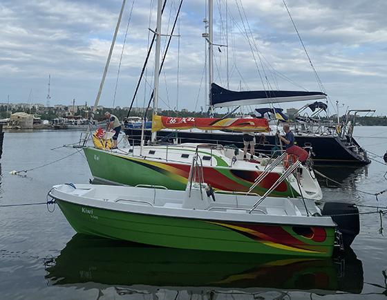 глиссирующий катер Fiskebat PRO